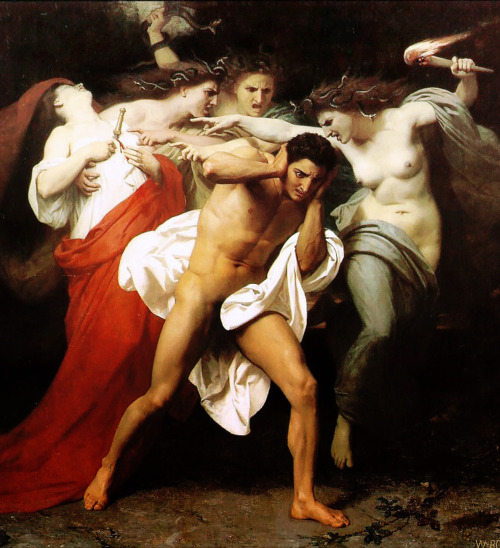 furies bouguereau