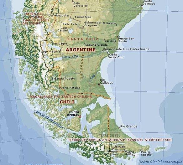 Patagonie-sud