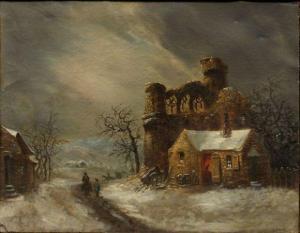 mallebranche_louis_claude-un_château_en_ruine_sous_la_neige~300~10015_20110518_16783_43