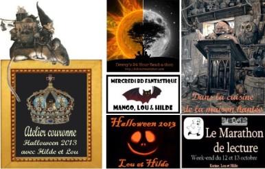 bannière logos halloween