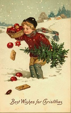 Victorian christmas cards 1