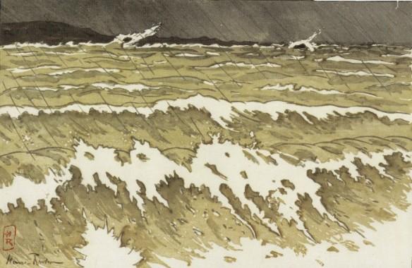 estampe mer