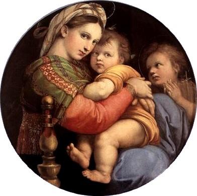 Raphael vierge-a-la-chaise