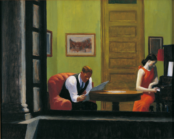 Edward-Hopper-Room-in-New-York-1932