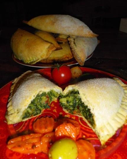 Empanadas au thon épinards 1