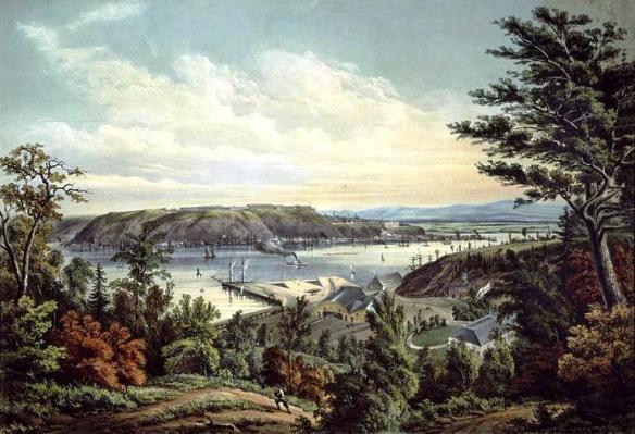 Krieghoff_Quebec_1862