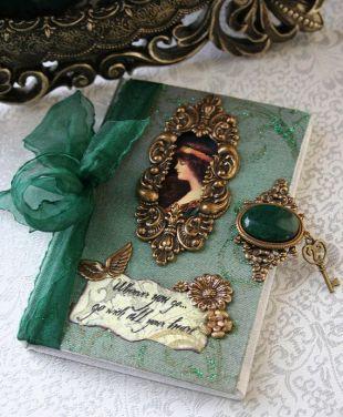 a ma syl vert et or un livre précieux dans t es couleurs