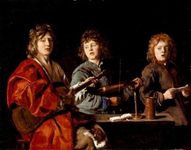 Antoine_Le_Nain_-_Trois_jeunes_musiciens