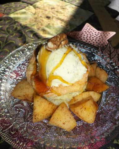 omelette soufflée aux pommes