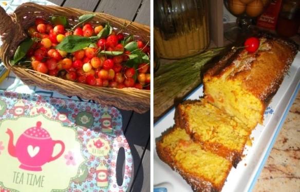 Cherries cake4