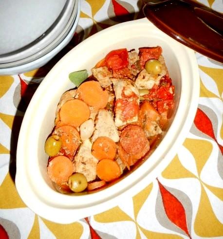 Mijoté de porc 1
