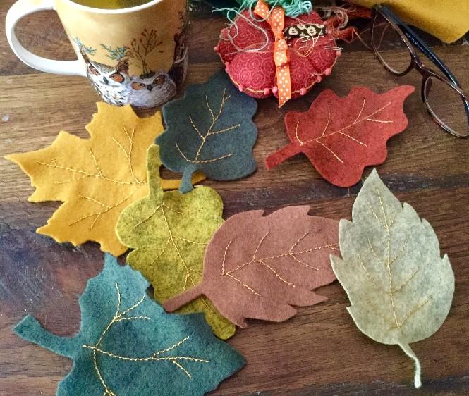 Guirlande feuilles automne 3