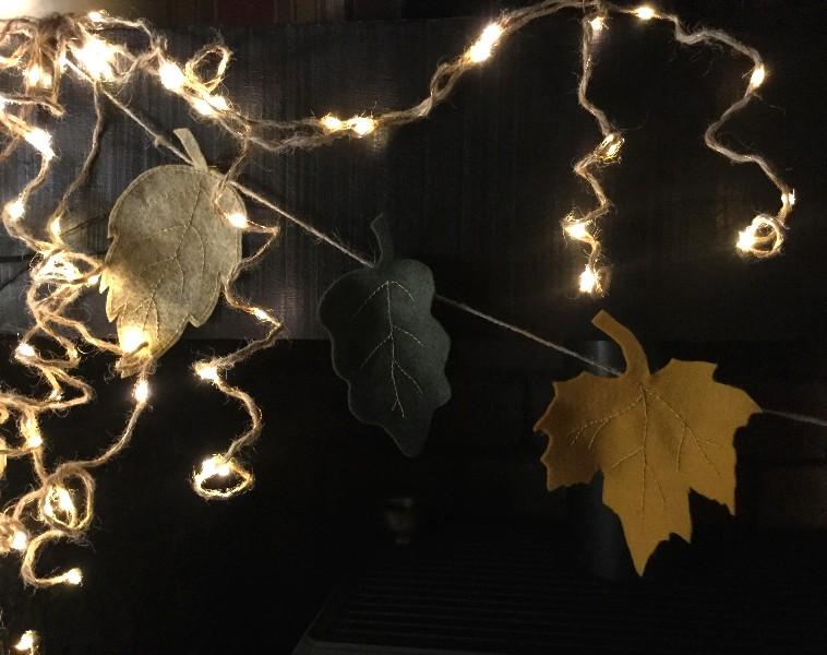 Guirlande feuilles automne 5